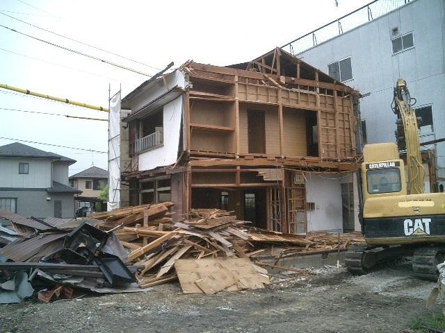 木造住宅 解体