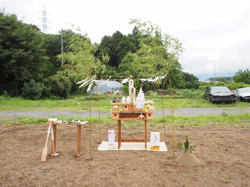 ホンカ 地鎮祭(1)