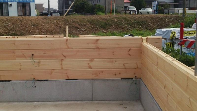 建て方工事 ログ1