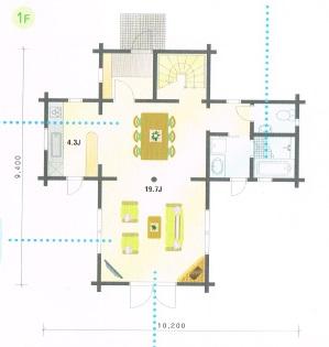 ヘルミ1階