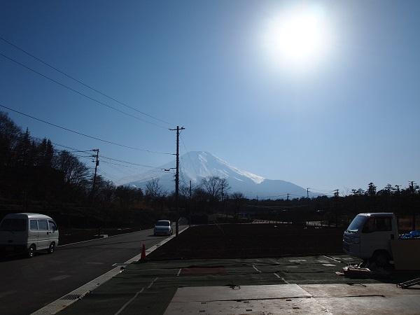 富士山 分譲地