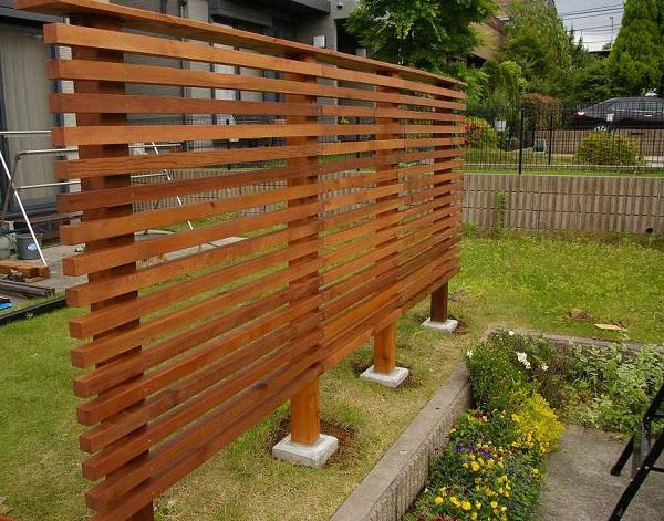 ホンカ フェンス DIY (6)