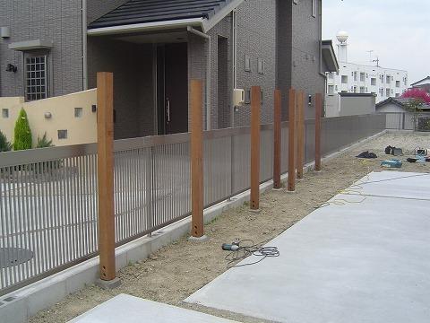 ホンカ フェンス DIY (1)