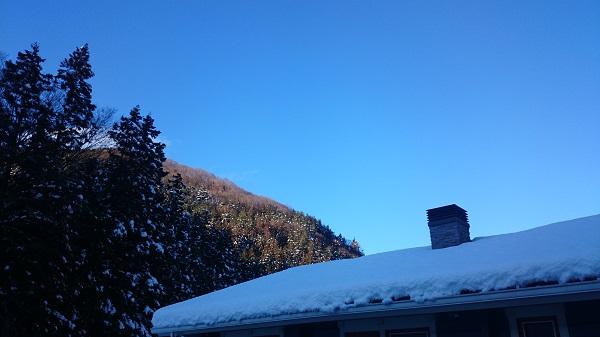 小俣邸 雪景色