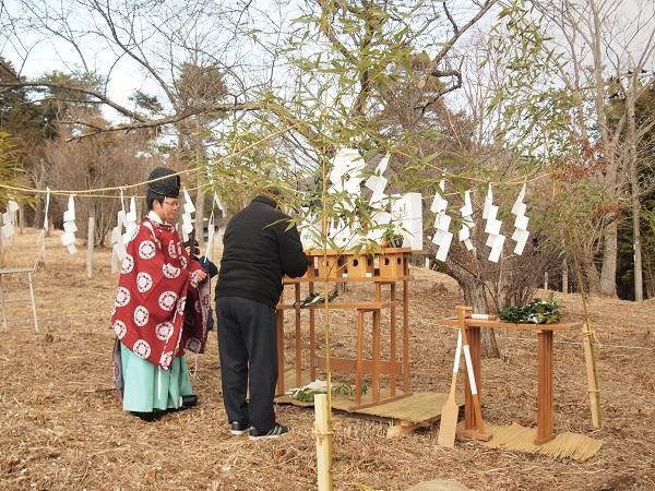 地鎮祭 山中湖 別荘
