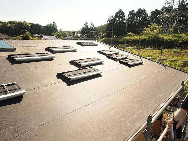 屋根工事 ルーフィング