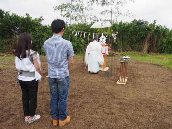 ホンカ K様邸 地鎮祭 (3)