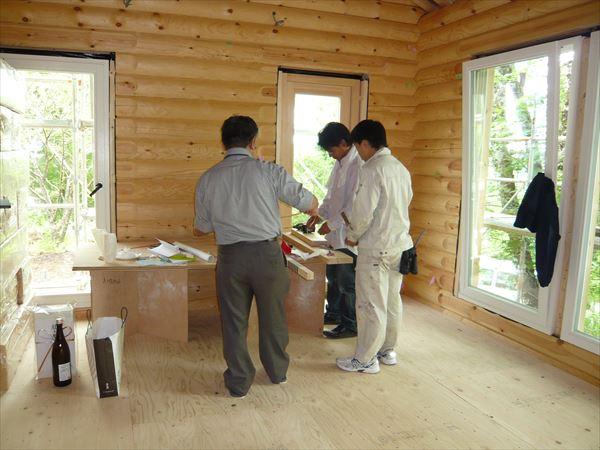 A様邸 上棟式 山中湖 別荘 (5)