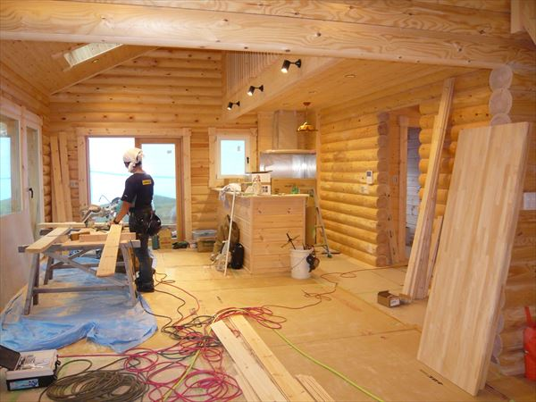 A様邸 木工事