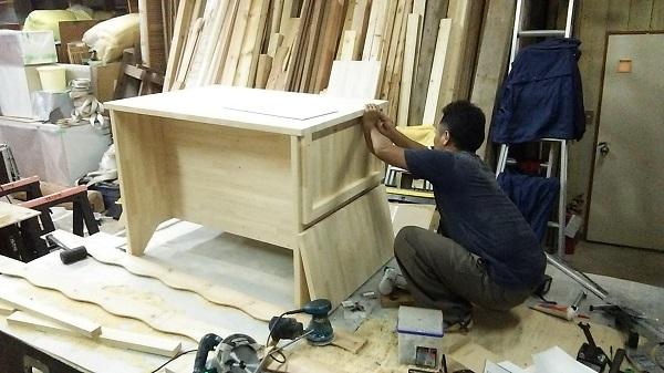 K様邸 造作家具