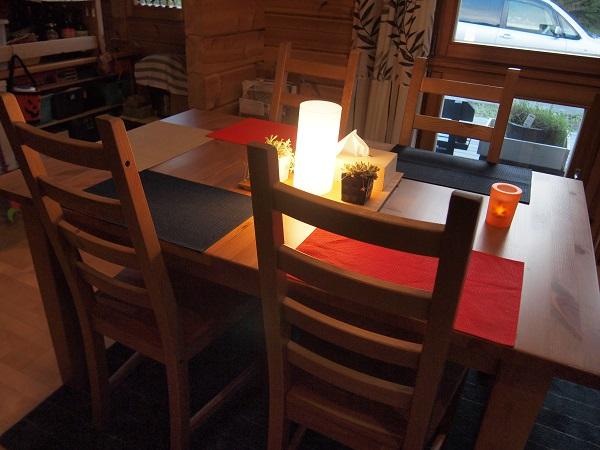 小俣邸 テーブル イケア