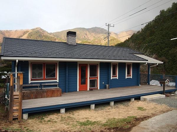 小俣邸 再塗装 2015年3月