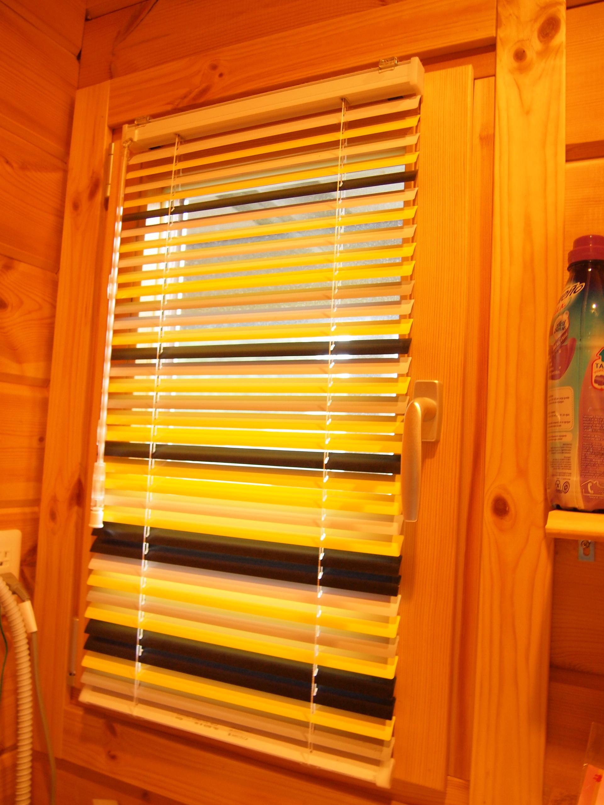ブラインド 浴室と洗面所