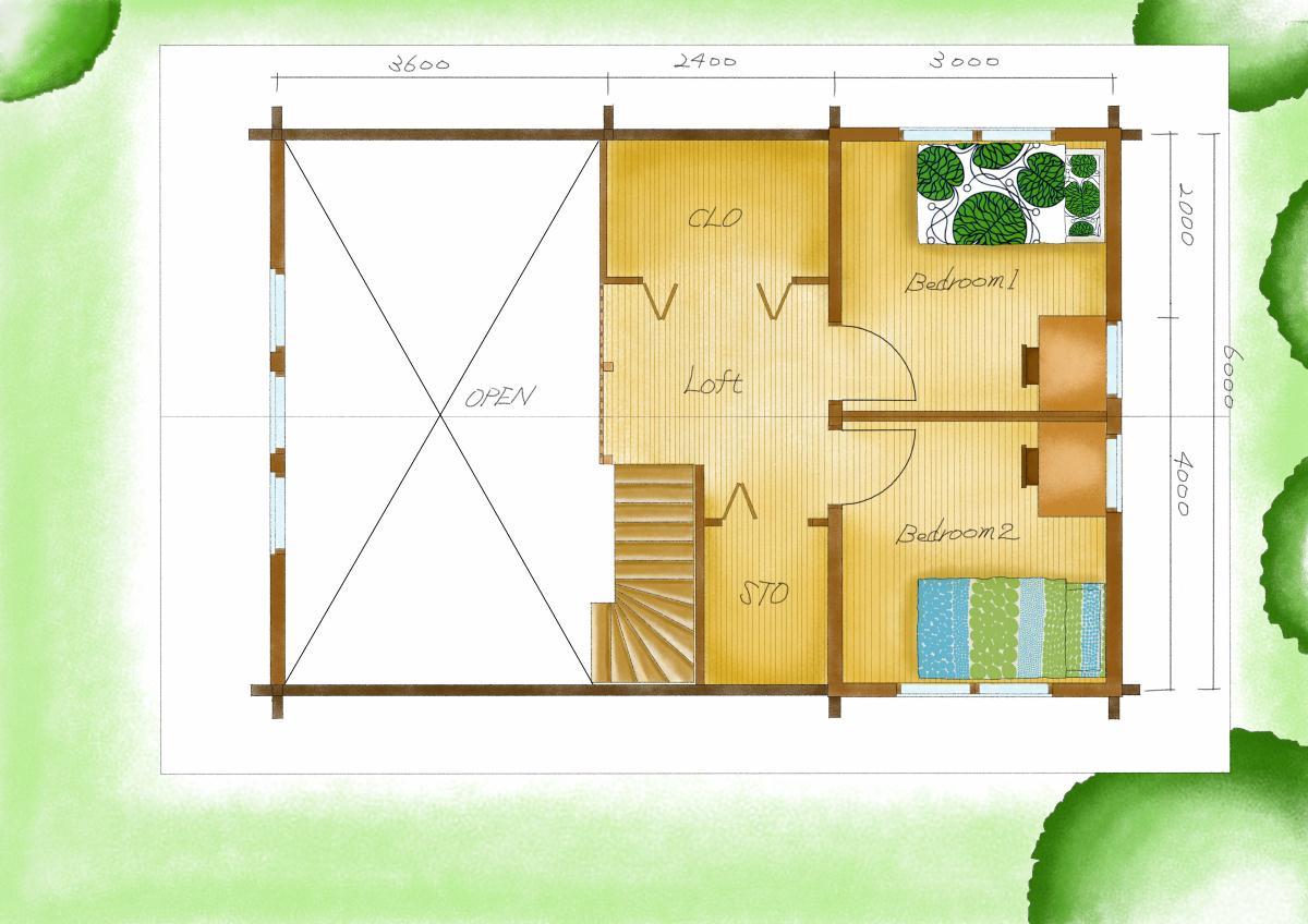 ホンカ TARMOアレンジ2(2階)