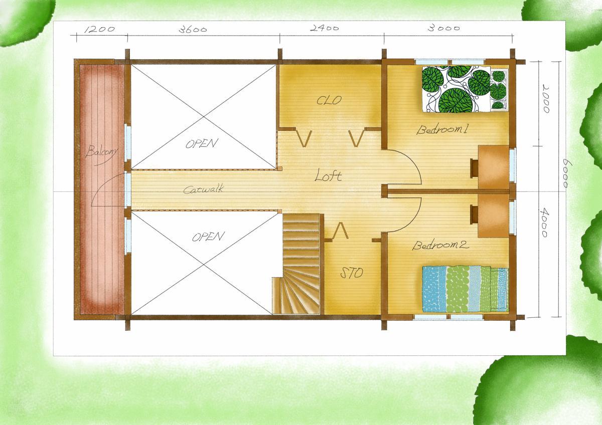 ホンカ TARMOアレンジ3(2階)