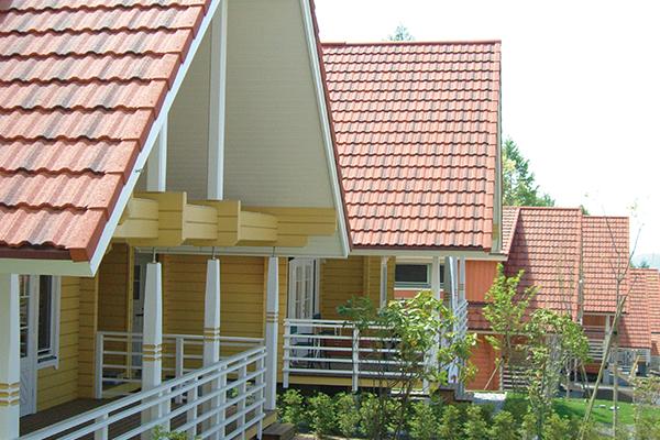 ディートレーディング 屋根材 施工例