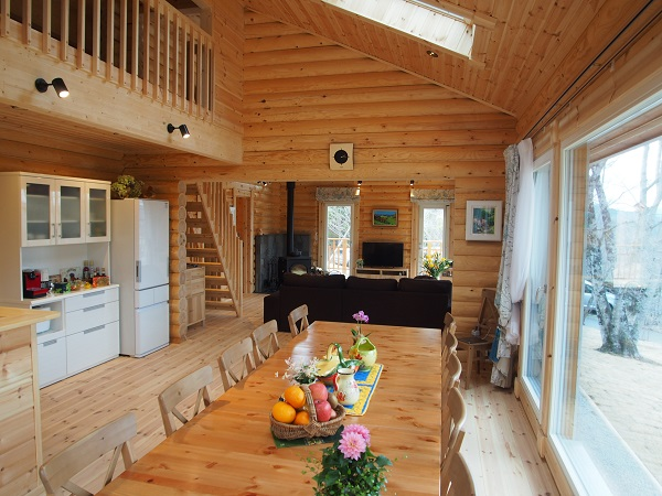 LOG HOMES HONKA