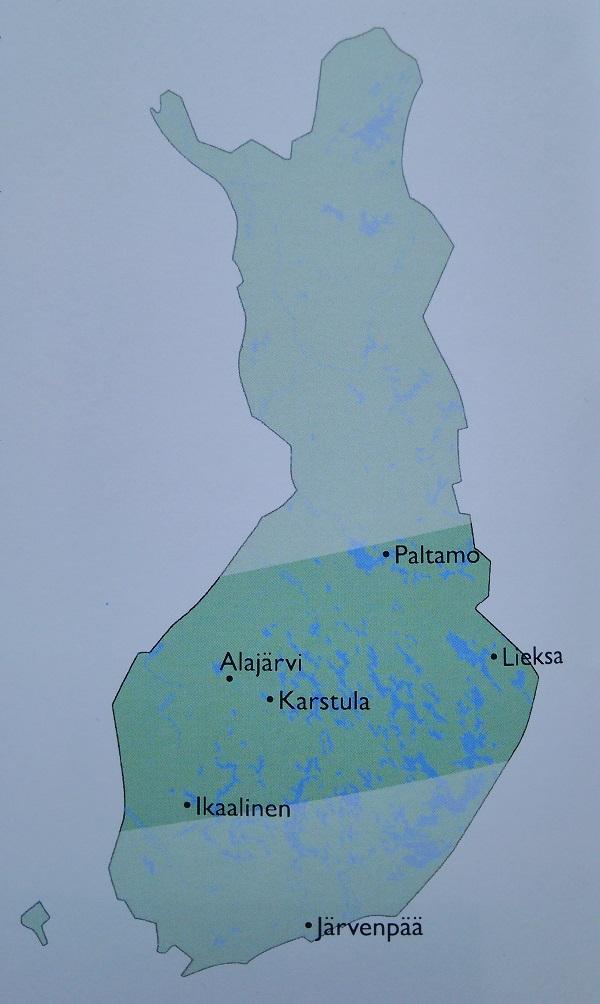 ホンカ ログハウス フィンランド 地図2
