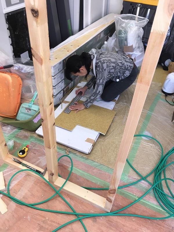 ログハウス ホンカ 立川内装工事2