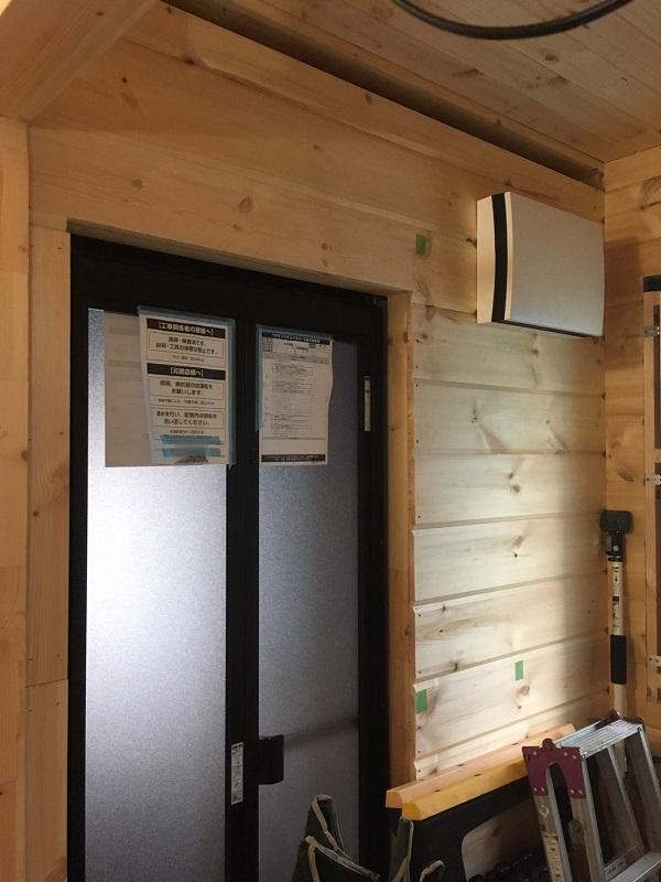 ログハウス 本物の 木の家 ホンカ 木工事