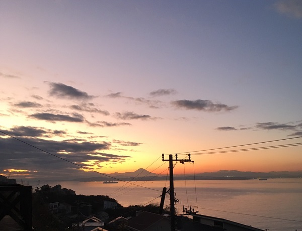 キグミ ログハウス 完成見学会 千葉県 富士山