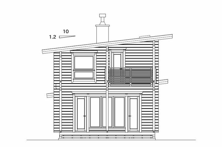 平井邸 ホンカ・ログハウス (5)