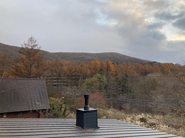 ホンカ 仕上げ 小俣 ログハウス 山中湖