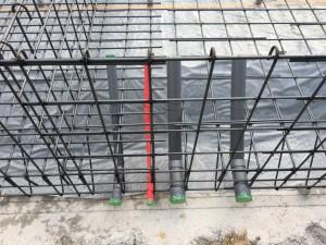 給排水配管仕込み