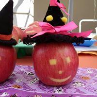 かたつむり りんご ハロウィン