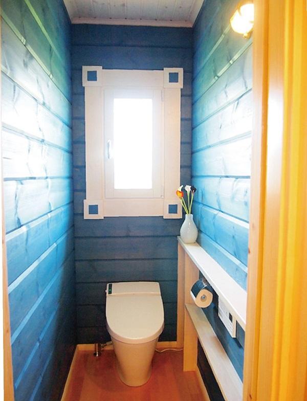 WC 天井・壁 塗装  施工例