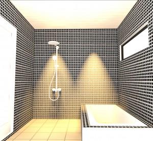 C27 浴室レイアウト