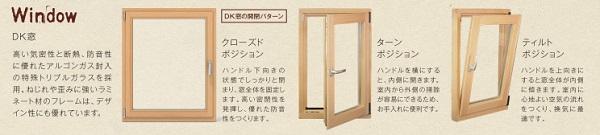 トゥンネ DK窓 木製