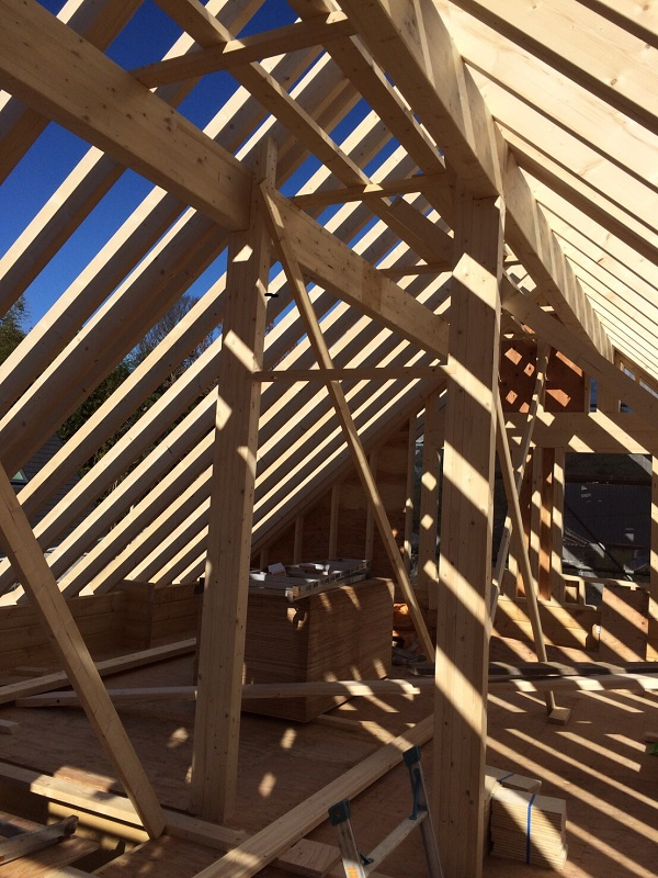 屋根 垂木 HONKA