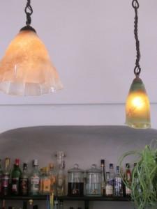 ガラスの照明