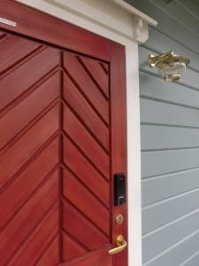 木製ドア鍵