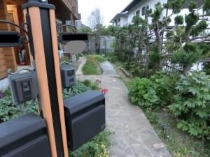 ログ家庭菜園